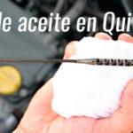 Cambio de aceite en Quito