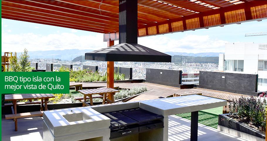 Departamentos de venta en quito con terrazas ajardinadas y for Terrazas ajardinadas