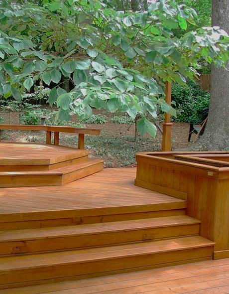 Construcciones de madera mobiliario exterior c mo - Maderas lamelas ...